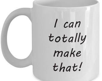 inspirational crafters' coffee mug