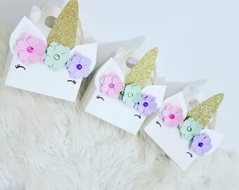 Unicorn Treat Boxes~Pastel Colors
