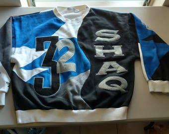 Awesome vintage Reebok Shaq 32 xl sweatshirt Shaquille O'Neal Orlando Magic