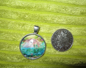 Unicorn fairy pendant