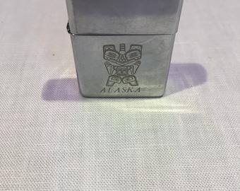 Zippo Mark XI Cigarette Lighter W/Alaska Insignia/Free Shipping!!