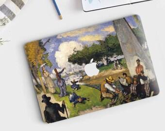 "Paul Cezanne, ""The Fishermen"". Macbook Pro 15 cover, Macbook Pro 13 cover, Macbook 12 cover. Macbook Pro cover. Macbook Air cover."