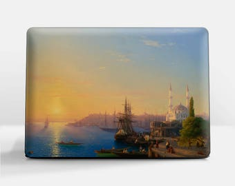 "Laptop skin (Custom size). Aivazovsky, ""View of Constantinople and the Bosphorus"". Laptop cover, HP, Lenovo, Dell, Sony, Asus, Samsung etc."