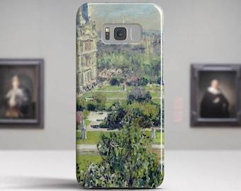 """Claude Monet, """"Les Tuileries"""". Samsung S8 Case, Samsung S7 Case, Samsung S6 Case, Huawei, LG, Google Pixel Cases. Art phone cases."""