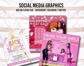 Social Media Flyer , Digital Flyer , Instagram Ad, Facebook Ad, Branding