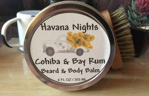 Cohiba & Bay Rum Beard Balm and Body Salve - Chesilhurst Farm