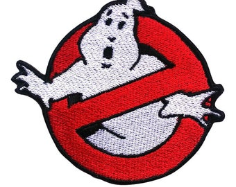 Ghostbuster Embroidered Patches Sew Iron On Bag Cap Jeans Jacket Badge Applique