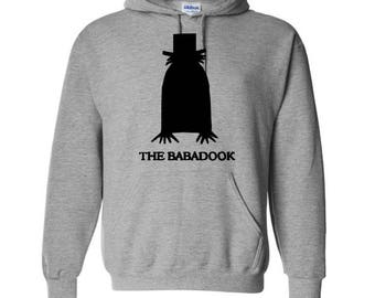 The Babadook Unisex Hoodie Pullover Hooded Sweatshirt Many Sizes Colors Custom Horror Halloween Merch Massacre