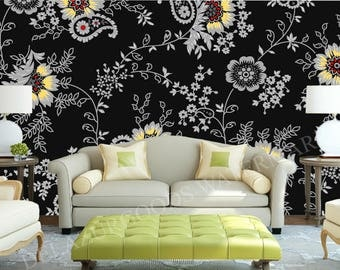 "Wallpaper ""Flower pattern"" 