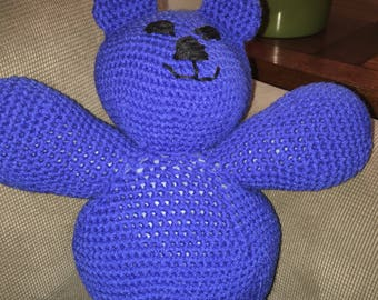 Royal Blue Teddy Bear