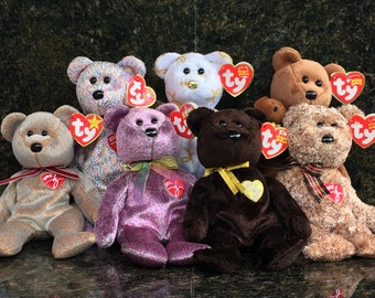 TY Beanie Baby, Signature Bears Collection