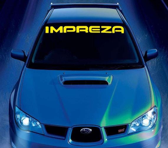 SUBARU IMPREZA Car Vinyl Sticker Bumper Windshield Banner JDM Decal Graphic  Sport from VINYXshop on Etsy Studio