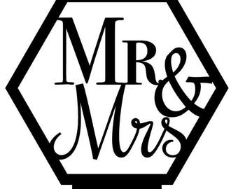 Mr & Mrs Table Number