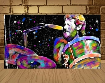 levon helm poster,levon helm print,levon helm art,the band,drums rock,blus,country,music art,music poster,music print,home decor,art,rock