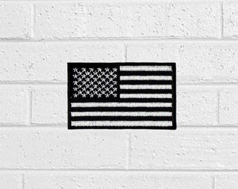 American Flag Patch - Sign Patch - Iron On Patches - Patches for Jackets, Jeans , Cap - Cool Badge Size 8 cm (W) x 4.8 cm (H)