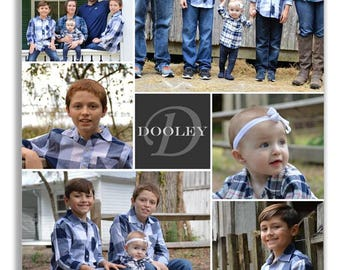 Custom Family Photo Friends Collage personalized - Print or Canvas