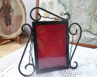 Photo frame hand forged from the 60's