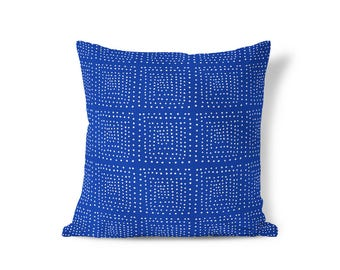 Blue Pillow - Modern Farmhouse - Blue Cushion Cover - Throw Pillow Cover - Decorative Pillows - Textured Pillows - Accent Pillow