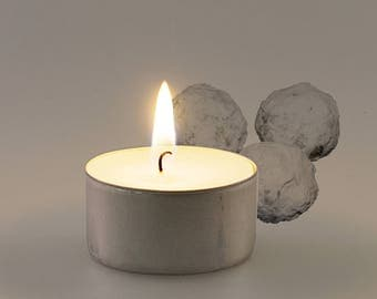 Marzipan Scented Vegan Soy Handmade Scented Tealights