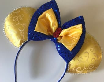 Beauty and the Beast Inspired Ears