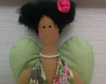 Textile doll Handmade doll Fabric doll Tilda