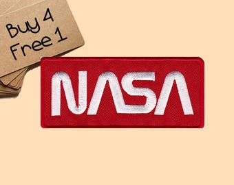 NASA Patches Space Patch Iron On Patch Embroidered Patches