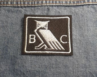 Bohemian Club  ~ Embroidered Patch ~ Iron-On Sew-On