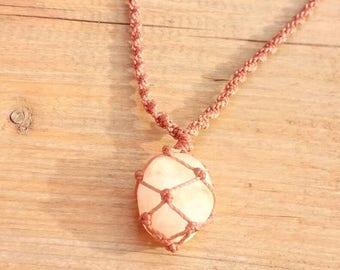 "Citrine necklace ""lucky secret"" citrine necklace"