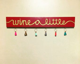 Wine Glass Charms Holder/Decor