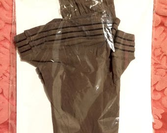 Vintage Stocking Still In Package - Brown