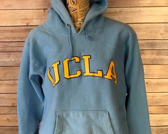 Vintage UCLA Champion Reverse Weave Hoodie (L)