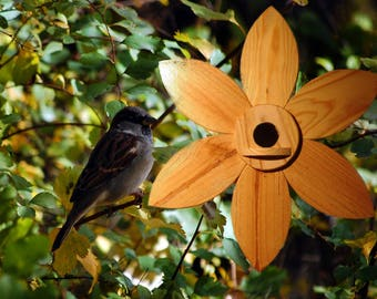 Nesting box, bird house, bird villa, flower