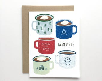Holiday Mugs - Holiday Card