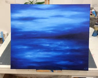 Into the blue by Corinne Young - Original