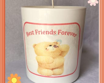 Best Friends Forever Scented Soy Candle