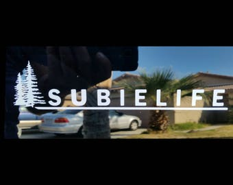 Pine Tree's Subielife Decal