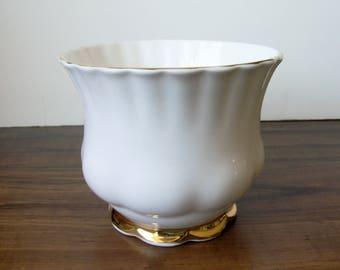 """Royal Albert Bone China  4""""H vase. England  (#EV117)"""