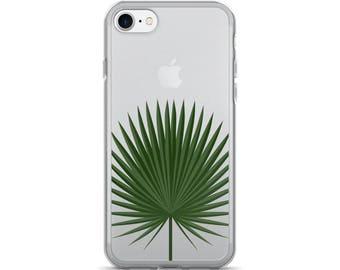 Palm Leaf iPhone Case • Tropical iPhone 7 Case • Cute iPhone Cases • Summer iPhone 6 Case • PF00 «