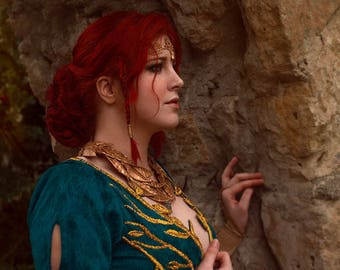 Triss Merigold (The Witcher 3) Cosplay print