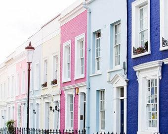 Notting Hill Photo Print, Notting Hill Photography, London City Wall Art, Romantic London Photography, London Style Photo Prints