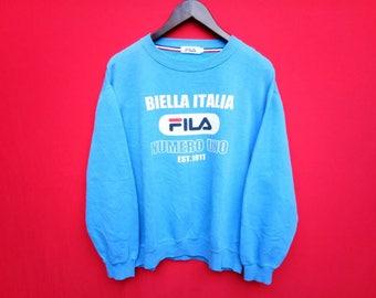 vintage fila sweatshirt mens