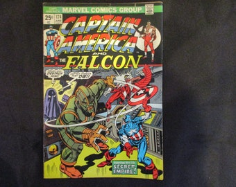 Captain America and The Falcon #174 Marvel Comics 1974