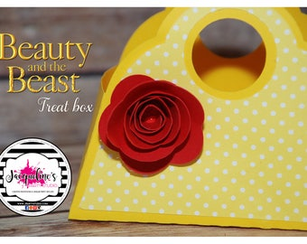 BELLE treat box, favor box SET of 6