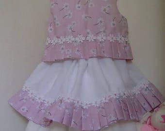 Skirt n top set 12/18 months