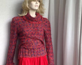 Vintage hand knitted  sweater