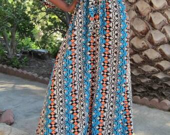 Flowy Summer maxi dress