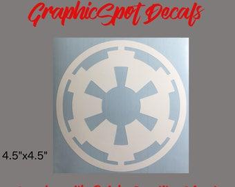 Imperial Army Emblem Decal | Vinyl Decal |