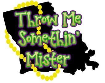 Childrens- Throw Me Somethin' tee