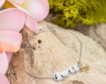 I Love You Bracelet/ I Heart You Bracelet