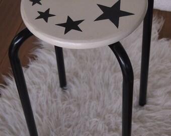 Restyled school stool